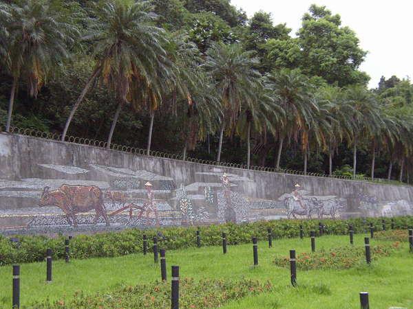 212.劍潭的水牛圖是政治家高玉樹和美術家顏水龍合作留給台北市民的資產