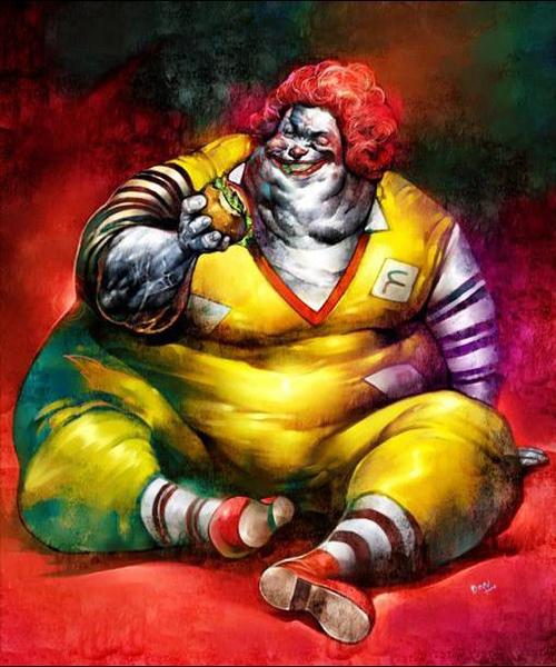 Evil McDonald's