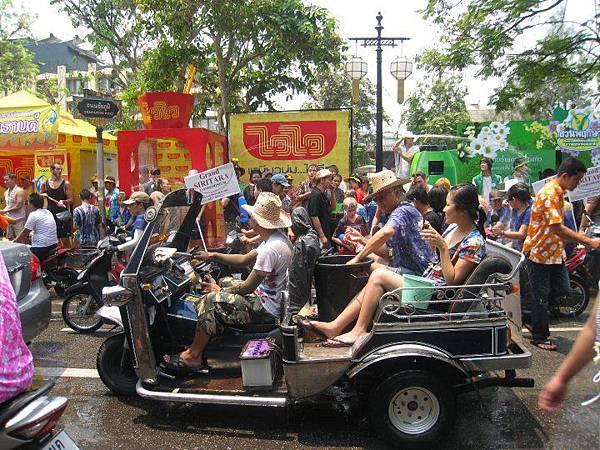 泰國潑水節-6