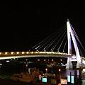 台北。淡水情人橋