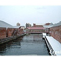 函館港邊小運河
