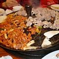 大鋼盤醃雞炒烤+金玉炒飯3