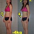 這是我減重4公斤