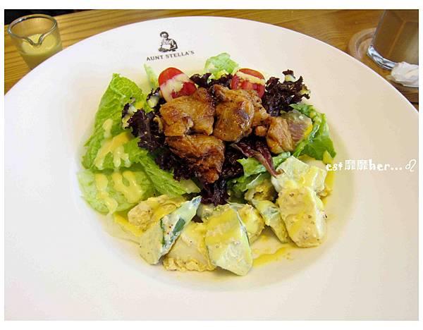 烤雞洋芋蔬菜沙拉.jpg