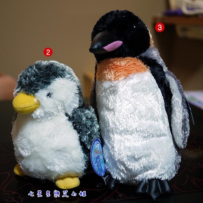 2 尼克斯海洋公園企鵝寶寶娃娃