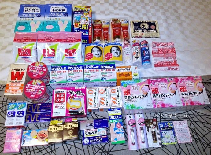 0 日本東京旅遊必買戰利品藥粧零食
