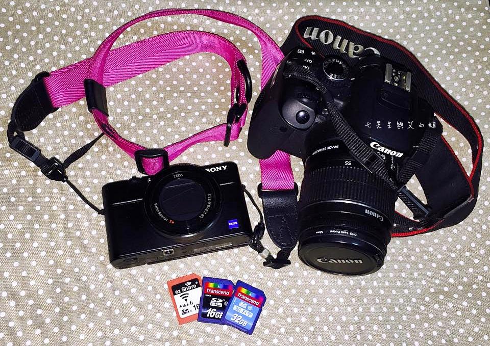 旅行必備3C 趨勢科技 相機 記憶卡
