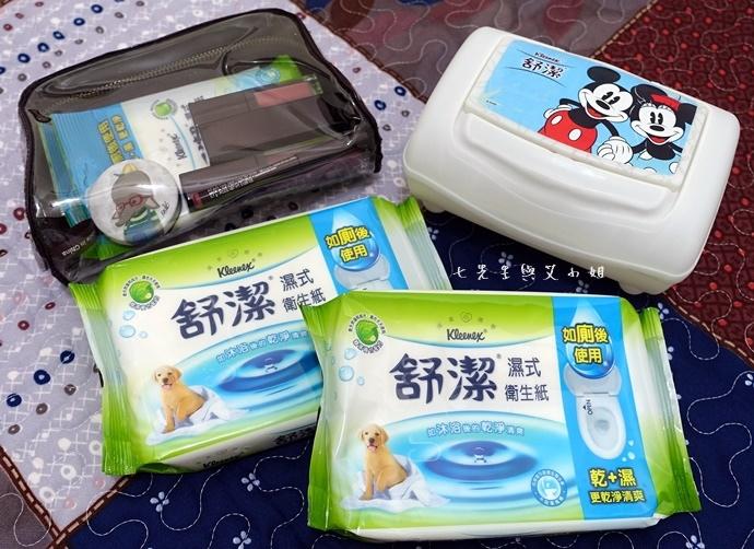 1 舒潔濕式衛生紙