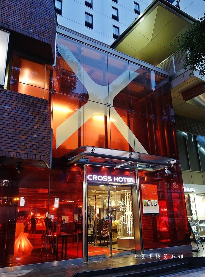 1 Cross Hotel Osaka 十字酒店,交通便利地點絕佳~心齋橋超熱門住宿首選,血拚一族最愛的新潮飯店