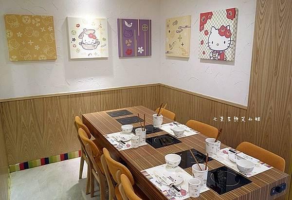 7 Hello kitty 主題小火鍋 涮涮鍋 Shabu Shabu.JPG