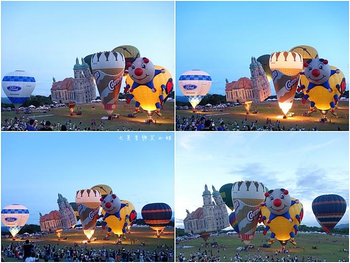 28 台東鹿鳴溫泉酒店熱氣球享鹿飛飛