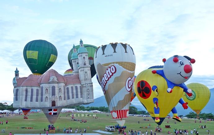 26 台東鹿鳴溫泉酒店熱氣球享鹿飛飛