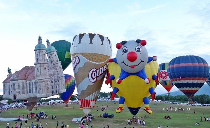 27 台東鹿鳴溫泉酒店熱氣球享鹿飛飛