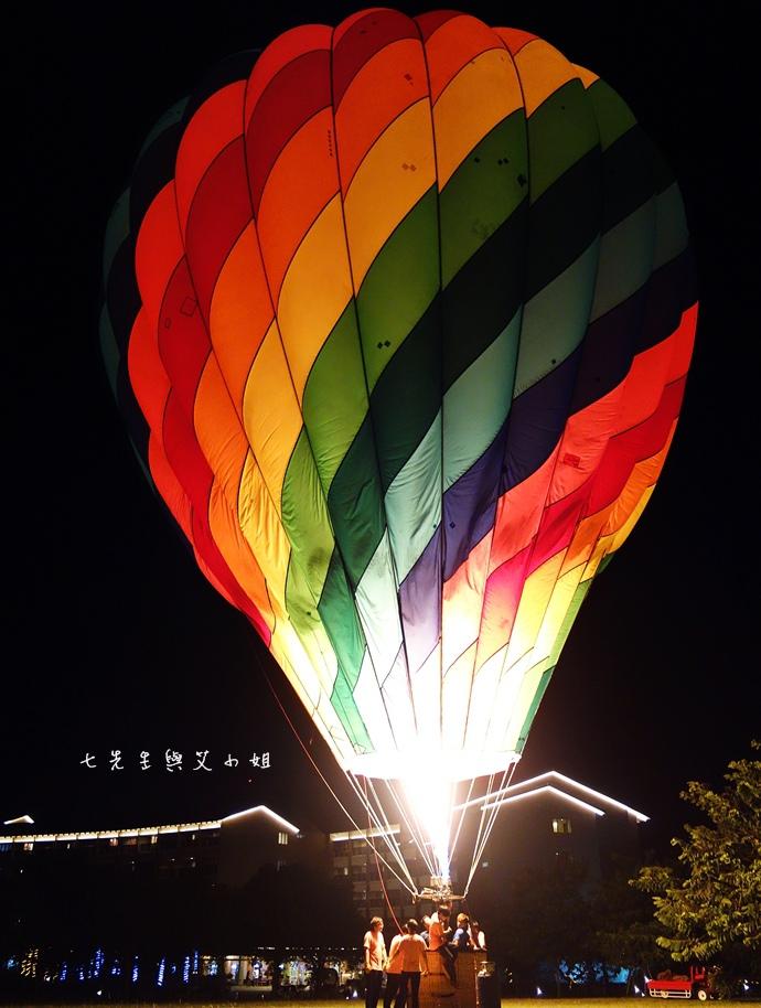 37 台東鹿鳴溫泉酒店熱氣球享鹿飛飛