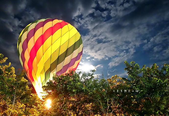36 台東鹿鳴溫泉酒店熱氣球享鹿飛飛