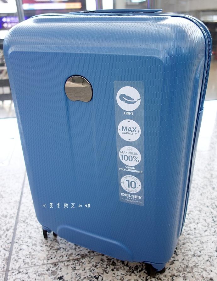 3 DELSEY HELIUM AIR 高質感輕盈耐撞 專利ZST保安拉鍊.JPG