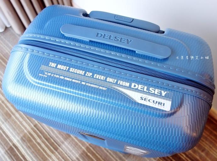 5 DELSEY HELIUM AIR 高質感輕盈耐撞 專利ZST保安拉鍊.JPG