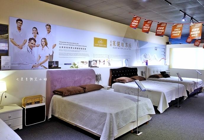 7 睡眠王國 Sleep Country 美國席夢思名床2萬有找 貨櫃抵台首賣會.JPG