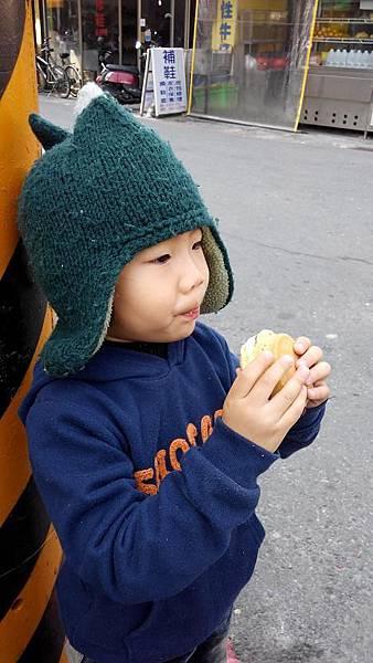 2014.0128@大口吃紅豆餅