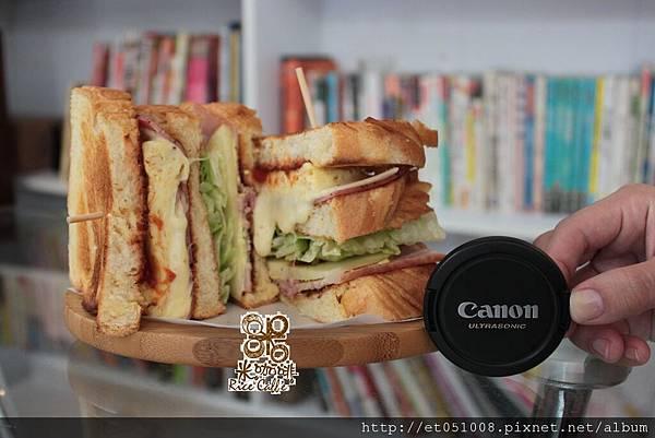 【Rice Caff'e 米咖啡】2011初秋新品-總匯三明治