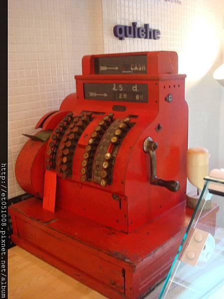 【Rice Caff'e 米咖啡】英式復古收銀機