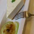 20120508輕乳酪蛋糕,輕爽無負擔的口感,漂著淡淡的檸檬香