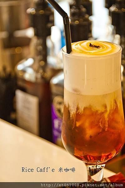 【Rice Caff'e 米咖啡】冰-紅茶拿鐵