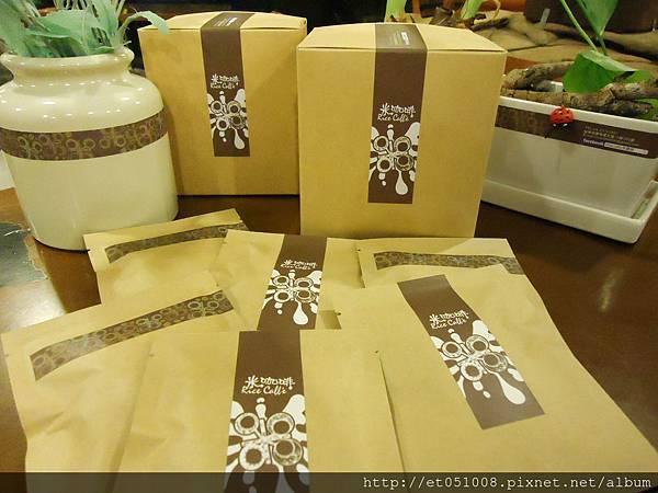 【Rice Caff'e】2012.09.19 掛耳包新包裝