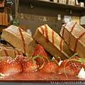 【Rice Caff'e 米咖啡】草莓鬆餅-冬限定