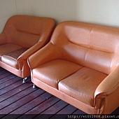 撿來的沙發