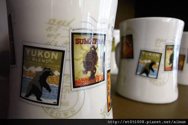咖啡豆標籤mug