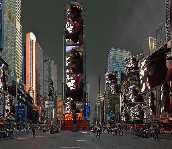 蜘蛛人纽约时代廣場