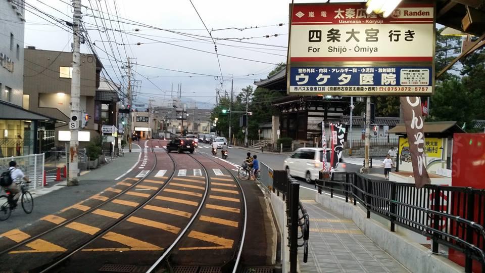 日本街道_其实车站附近没什麼景点,但很喜欢黄昏接近晚上时,走在日本街道上