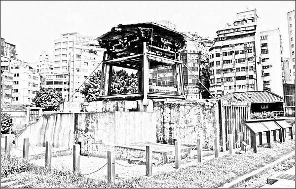 西本願寺鐘樓遺址