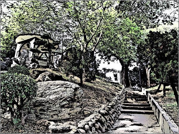 台中公園砲台山(大墩)
