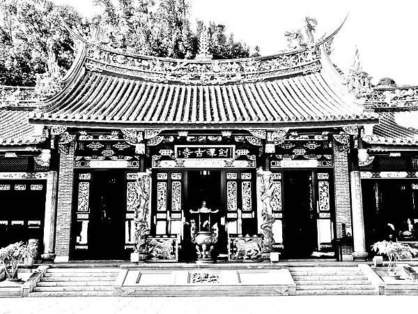 台北大直劍潭古寺