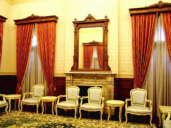 台灣總督官邸的內部空間配置