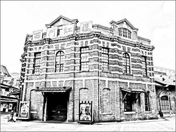 舊新起街市場(台北西門紅樓)