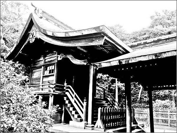 舊桃園神社神殿