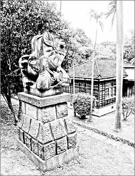 舊桃園神社狛犬