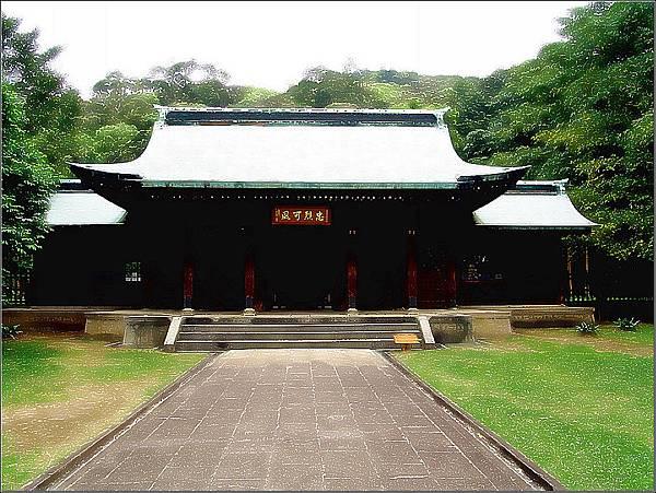 舊桃園神社拜殿