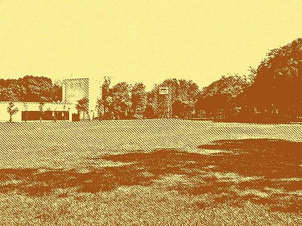 日治時期馬場町內的練兵場