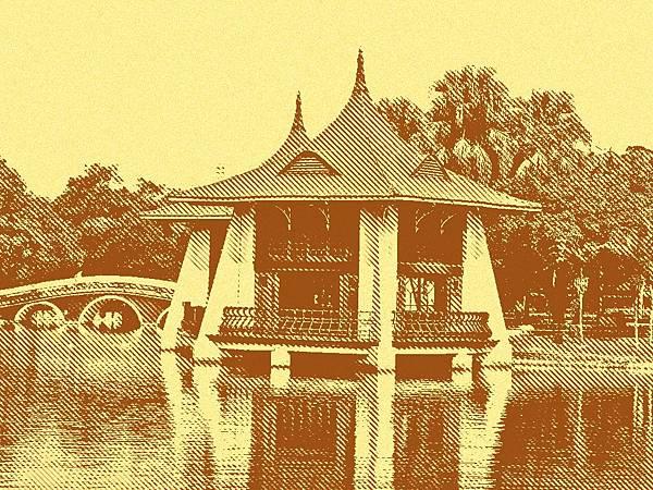 台中公園湖心亭