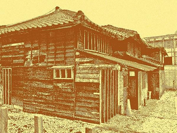 西本願寺台北別院輪番所