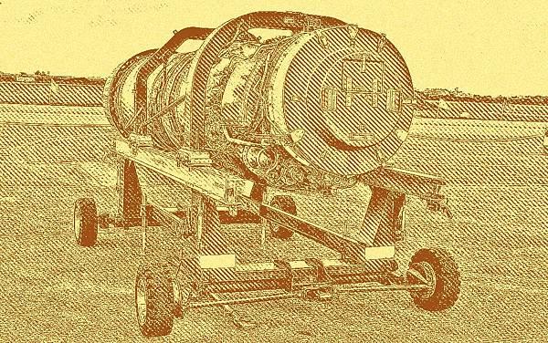 M53-P2型渦輪扇噴射發動機