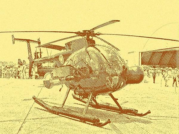 500MD/ASW 反潛直升機