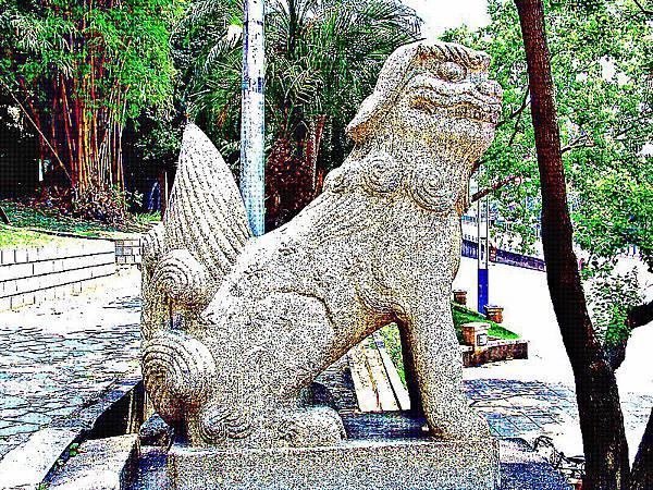 台灣神社狛犬(高麗犬)