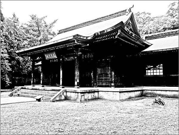 桃園神社拜殿