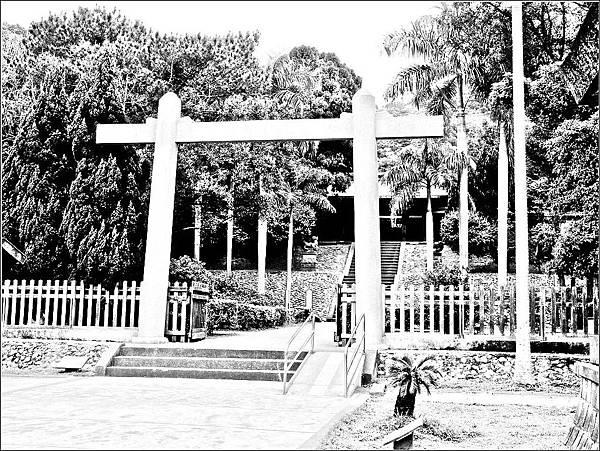 桃園神社鳥居