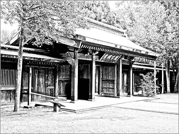 桃園神社中門(神門)